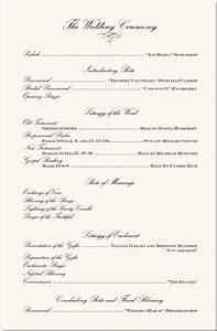 wording examples wedding ceremony programs wedding With wedding ceremony program examples