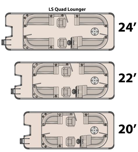Pontoon Boats Dimensions by Research 2015 Avalon Pontoons 20 Ls Lounge On