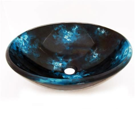 Colorful Bathroom Sinks by Multi Colored Glass Vessel Sink 160 Uvlfa160