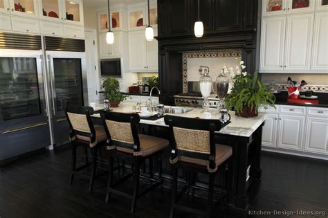black  white kitchen designs ideas
