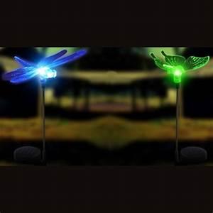 Rouleau Adhésif Décoratif Gifi : lampe solaire papillon et libellule ~ Nature-et-papiers.com Idées de Décoration
