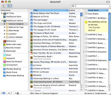 Virtualsource Bookshelf by Vitalsource Bookshelf Driverlayer Search Engine