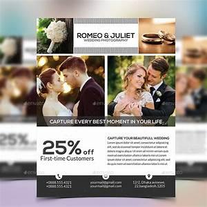 wedding photography flyer by elite designer graphicriver With wedding photography ads