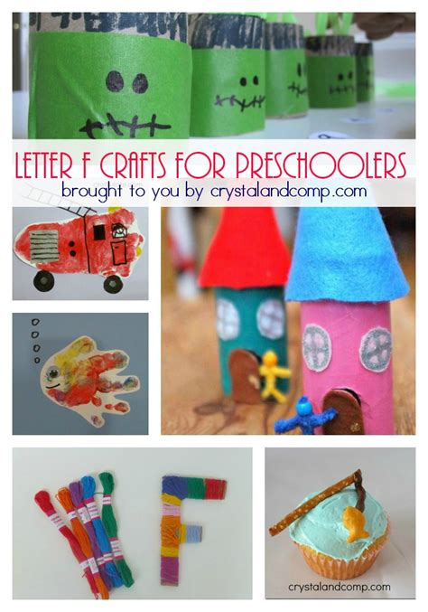 32 letter f crafts and activities for preschoolers 272 | 31 Letter F Crafts and Activities for Preschoolers