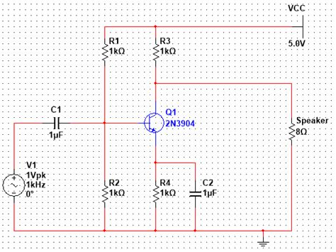 Solved Hello Trying Design Audio Amplifier