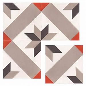 Carreaux De Ciment Rouge : arrow carreaux de ciment 20 x 20 carra france ~ Melissatoandfro.com Idées de Décoration