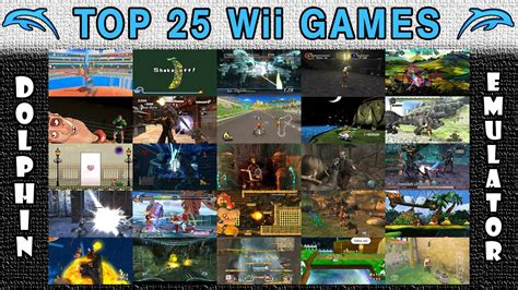 Top 25 Nintendo Wii Games Of All Time!