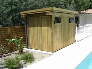 Cabanon En Bois : abris de jardin et pergolas en bois arcachon en gironde ~ Premium-room.com Idées de Décoration