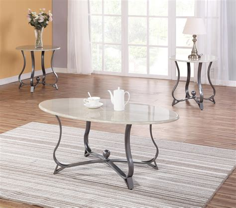 Rh members enjoy 25% savings and complimentary design services. Grey base with ivory top 3 Pc Coffee table set - Affordable