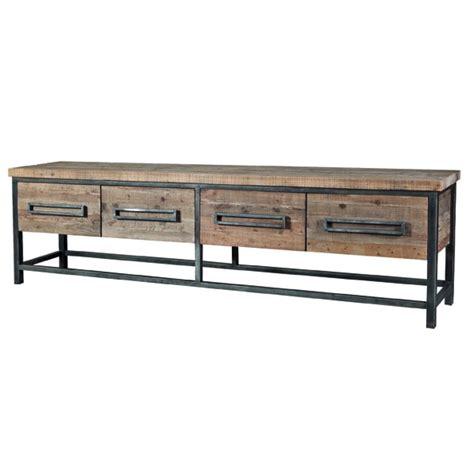 sideboard metall holz sideboard holz metall sideboard industrial mit vier