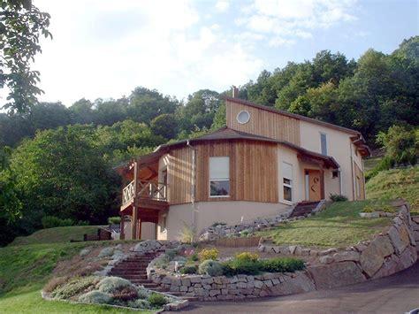 maison moderne bardage ossature bois maison moderne bardage