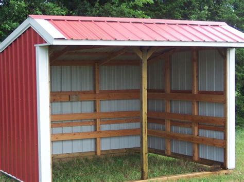 Loafing Shed Kits Oklahoma by Oklahoma City Affordable Barns Loafing Sheds