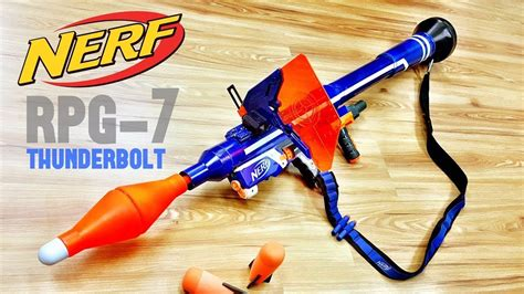 nerf rocket launcher rpg mod youtube