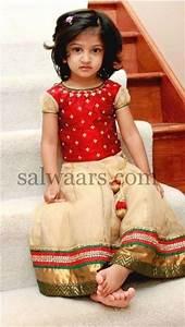 Small Baby Cream Net Tissue Skirt | Indian Dresses | kids ...