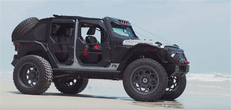 Fab Fours Mall Assault Jeep Wrangler