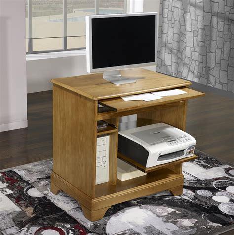 bureau en informatique petit bureau informatique en chêne de style louis philippe