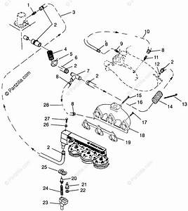 Polaris Watercraft 1996 Oem Parts Diagram For Cooling