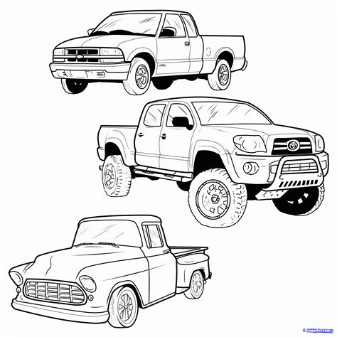 Lowrider Coloring Pages