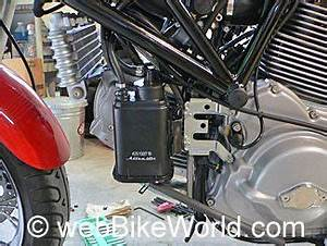 Ducati Evaporative Emissions Canister And System