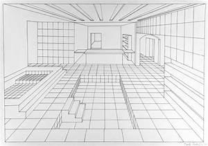 Perspektive Zeichnen Raum : 2015 16 schulkunstthema zeichnen 2015 biberach gekachelte r ume schulkunst archiv baden ~ Orissabook.com Haus und Dekorationen