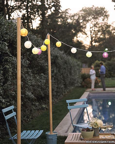 globe bistro cafe string lights how do i hang them