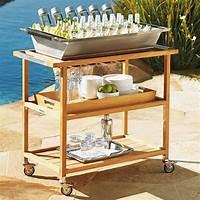 outdoor bar cart Rolling Bar Carts — Outdoor Bar Carts — Eatwell101