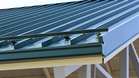 colorgard snow retention system  standing seam
