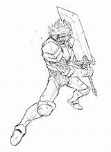 Trollhunters Coloring Morgana 3below sketch template