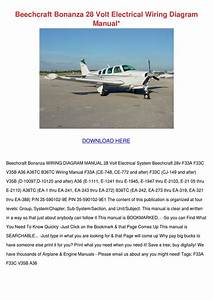 Beechcraft Bonanza 28 Volt Electrical Wiring By Wan