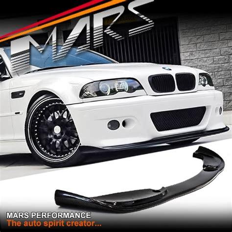 hamann style front bumper bar carbon fibre lip  bmw