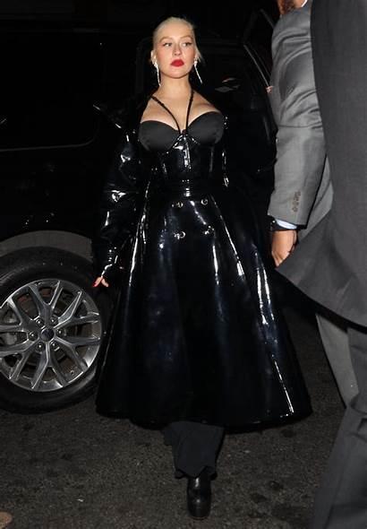 Christina Aguilera Cleavage 1oak Arrives York Instagram