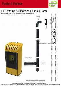 Cheminée à Pellet : poele a pellet tubage cheminee ~ Edinachiropracticcenter.com Idées de Décoration