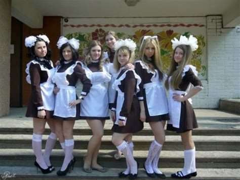 Russian School Girls