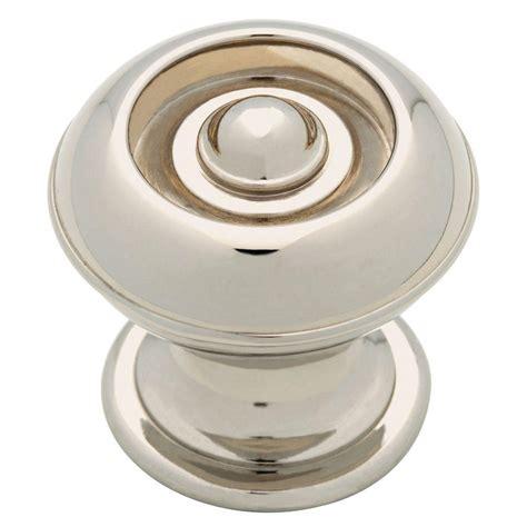 martha stewart kitchen cabinet hardware martha stewart living 1 1 8 in polished nickel button