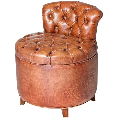 tufted leather chair for sale at 1stdibs