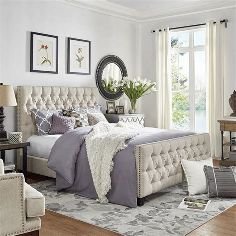 glam bedroom design photo  wayfair