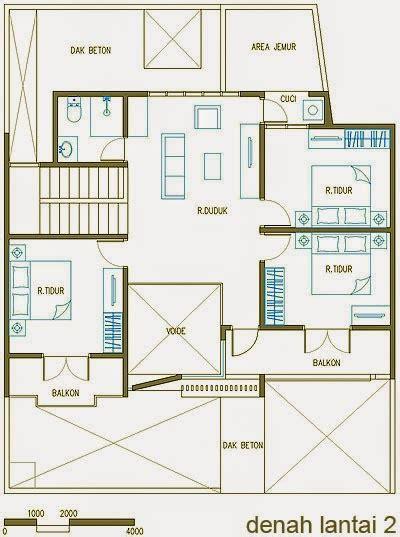desain rumah minimalis  lantai   kamar tidur