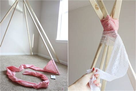 tipi selber bauen ohne nähen tipi n 228 hen eine kreative idee f 252 r das kinderzimmer