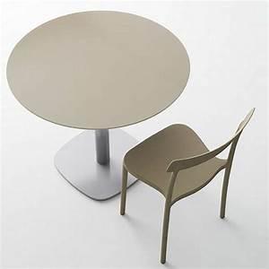 Table Verre Ronde : table de cuisine ronde en verre petit espace circus 4 ~ Teatrodelosmanantiales.com Idées de Décoration