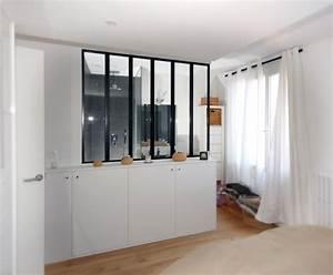 une nouvelle salle d39eau dans la chambre design et deco With salle de bain dans petite chambre