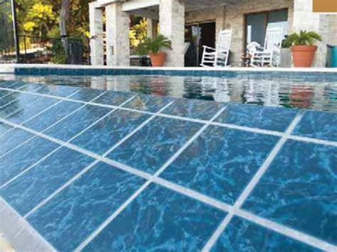 6x6 Blue Pool Tile by National Pool Tile Seven Seas 6x6 Pool Tile