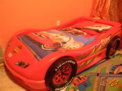 Tikes Lightning Mcqueen Toddler Bed by Tikes Disney Cars For Sale