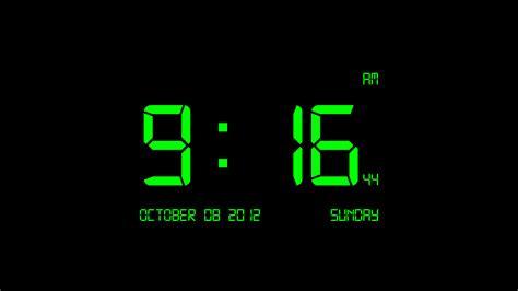 Digital Live Wallpaper by Clock Live Wallpaper Windows 10 57 Images