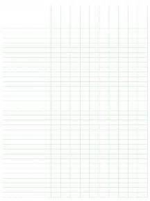 Free Printable Spreadsheet Paper