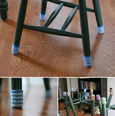 ideas products diy chair socks  protect