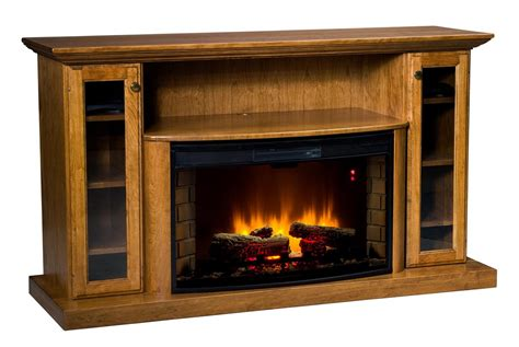 amish electric fireplace 64 quot electric fireplace entertainment center from