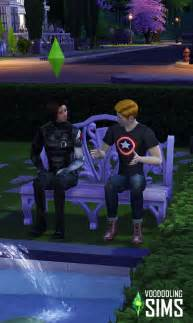 The Sims 4 CC Winter Soldier