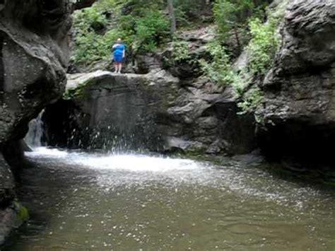 jemez falls cliff jumping youtube
