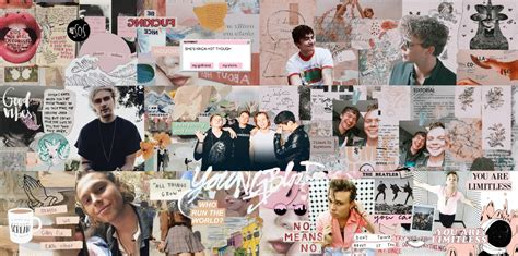 67 aesthetic collage wallpapers computer
