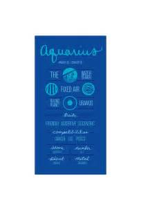 Aquarius Zodiac Sign Description